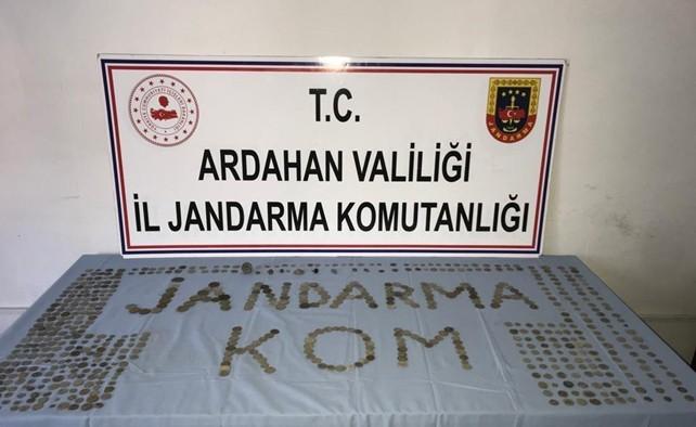 Ardahan'da tarihi eser operasyonu