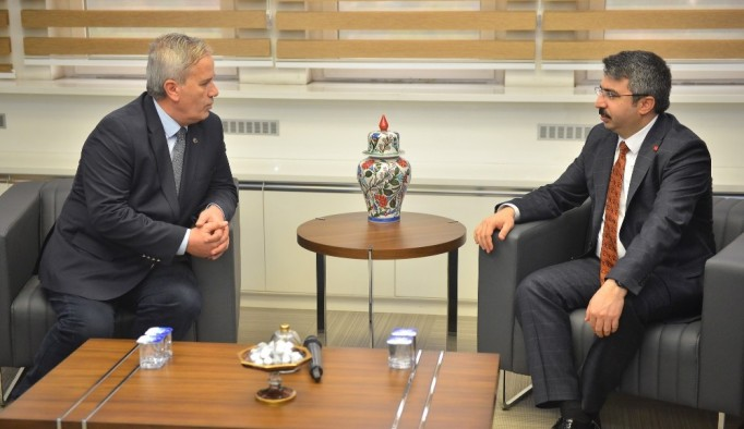 Balkanlardan Başkan Yılmaz'a ziyaret