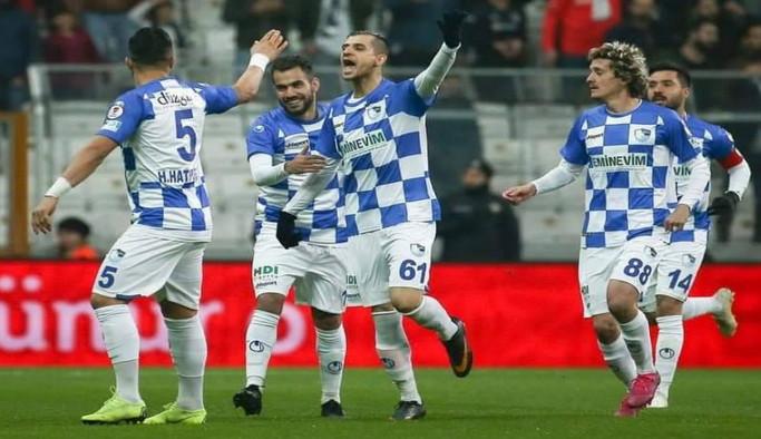 DADAŞLAR TARİH YAZDI: Ziraat Türkiye Kupası: Beşiktaş: 2 - BB Erzurumspor: 3