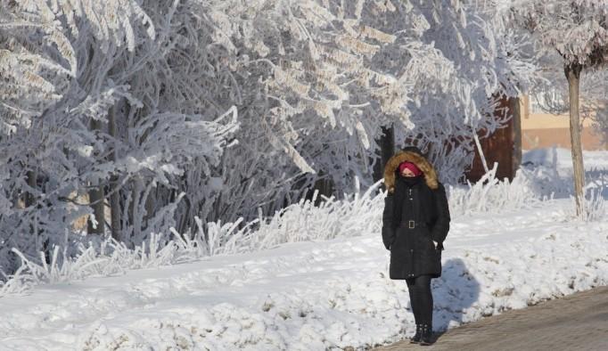 Doğu 'da dondurucu soğuklar ...