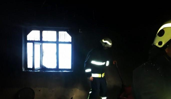 Edremit'te ev yangını
