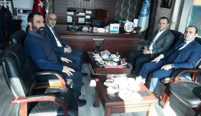 Genel Sekreter Türkman'dan Başkan Ensari'ye ziyaret