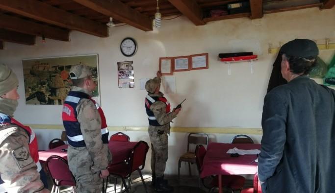 Kars'ta Jandarma'dan huzur güven uygulaması