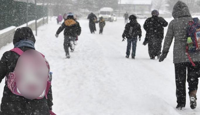 Erzurum'da soğuk hava tatili bir gün daha uzatıldı