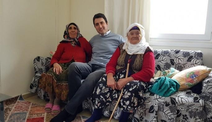 Kaymakam Kuruca'dan yaşlılara ziyaret