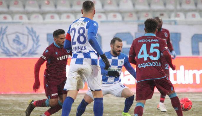 Türkiye Kupası: BB Erzurumspor: 1 - Trabzonspor: 4