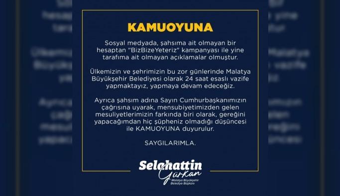 Belediye Başkanı Gürkan kampanya hesabına para yatıracak