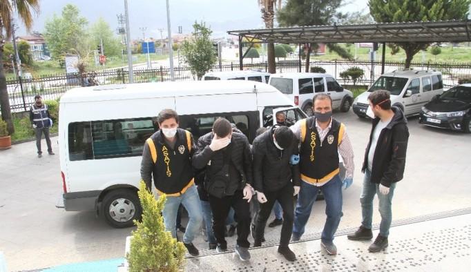 Fethiye'de yasa dışı bahis operasyonu