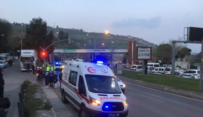 İzmir'de ambulans kaçıran şahıs yakalandı