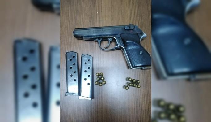 Bitlis'te silah ele geçirildi