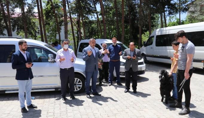 Hizan'da cuma namazı eda edildi
