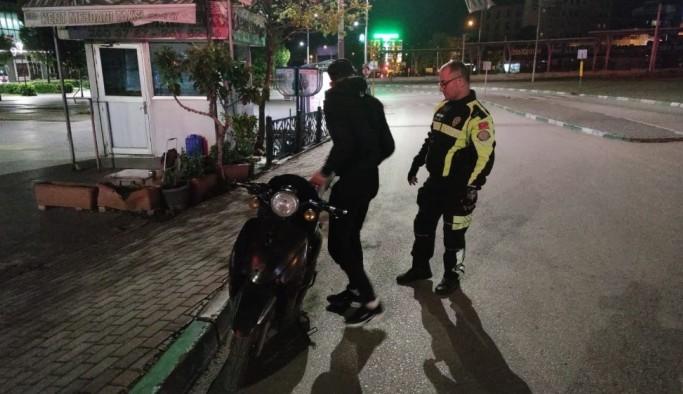 Sokağa çıkma kısıtlamasına uymayan yabancı uyruklu 3 kişi cezadan kaçamadı
