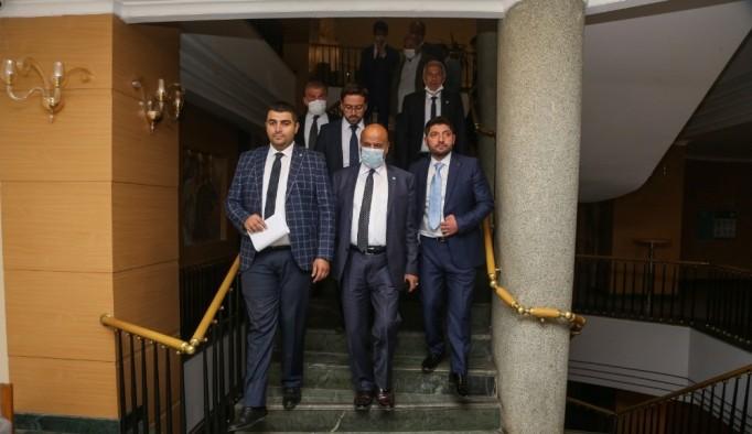 İYİ Parti Erzurum İl Teşkilatı yemekte buluştu