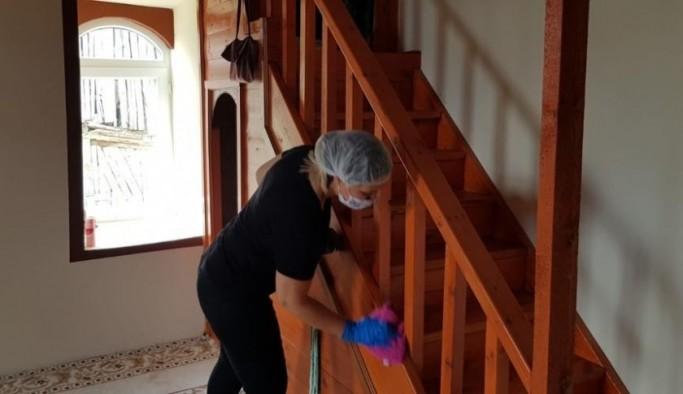 Beypazarı Belediyesinden camilerde temizlik