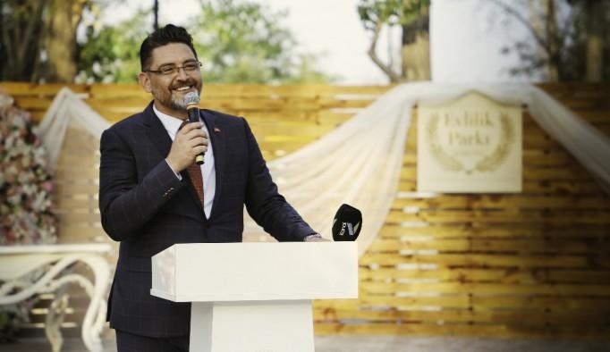 Korkuteli'nde 'Evlilik Parkı' hizmete açıldı