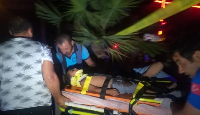 Otomobil ile belediye otobüsü çarpıştı: 1'i hamile, 2'si çocuk toplam 6 kişi yaralı