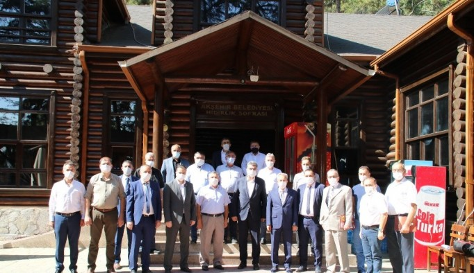 Akşehir'de istişare toplantısı
