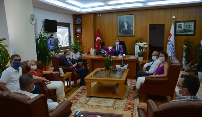 Başkan Çavdar, üyelerinin sıkıntılarını paylaştı