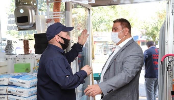Başkan Sunar'dan esnafa Ahilik Haftası ziyareti