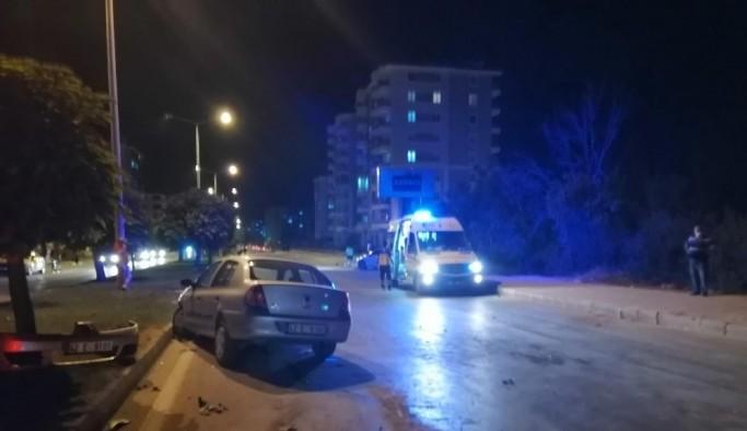 Ereğli'de trafik kazası: 5 yaralı