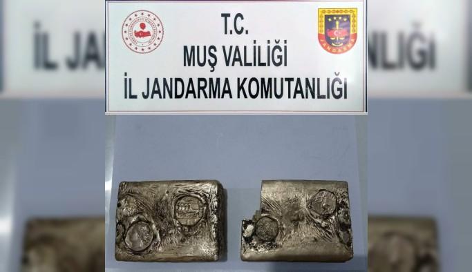 Muş'ta 5 kilo 250 gram külçe altın ele geçirildi