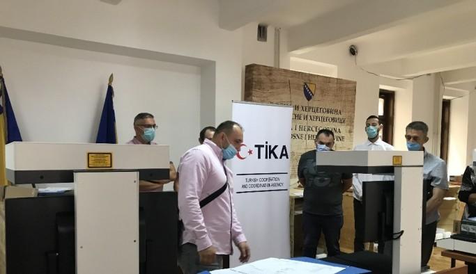 TİKA'nın desteği ile Bosna Hersek Devlet Arşivi dijitalleşiyor