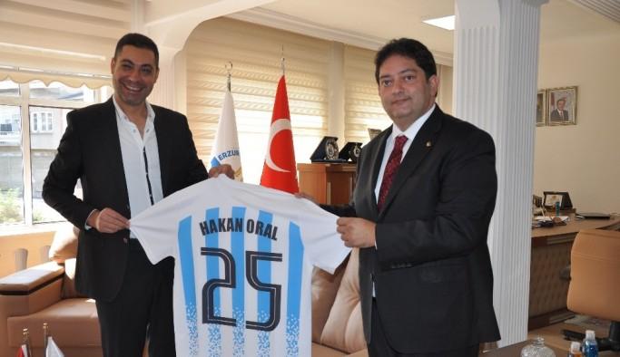 UYAFA CUP Koordinatörü Ali Güney'den Başkan Oral'a ziyaret