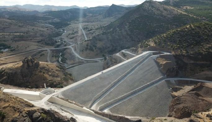 Yoncalı Barajı ile milli ekonomiye yıllık 154 milyon TL gelir