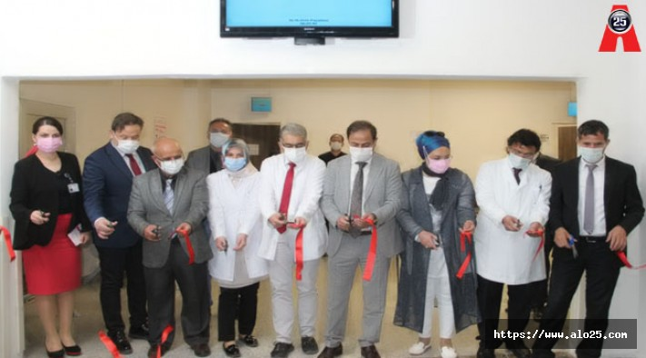Atatürk Üniversitesi Kronik Cilt Hastalıkları Polikliniği Açıldı
