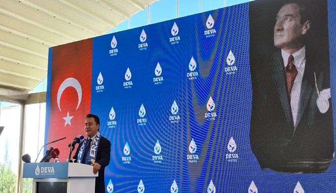 Deva Partisi Genel Başkanı Ali Babacan, Erzurum'da