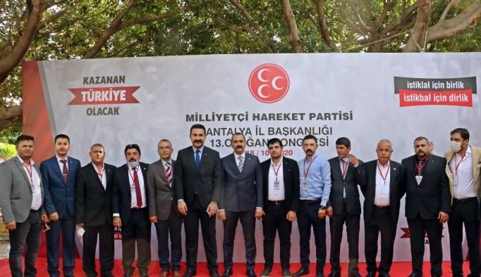 MHP Antalya Hilmi Durgun ile 'devam' dedi