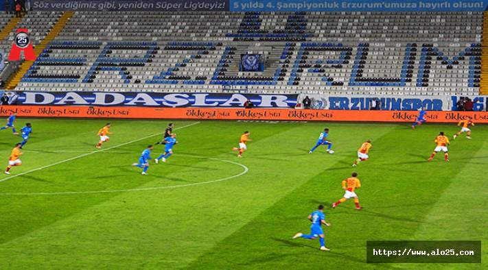 Süper Lig: BB Erzurumspor: 1 - Galatasaray: 2