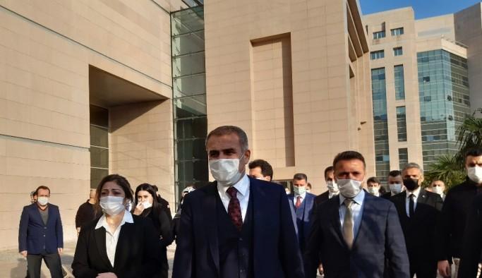 Yargıtay'a atanan İstanbul Başsavcısı İrfan Fidan Ankara'ya uğurlandı