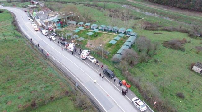 İstanbul'da helikopter düştü ihbarı ekipleri alarma geçirdi