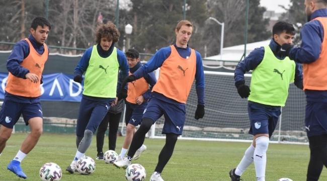 BB Erzurumspor'da Konyaspor maçı hazırlıkları devam etti