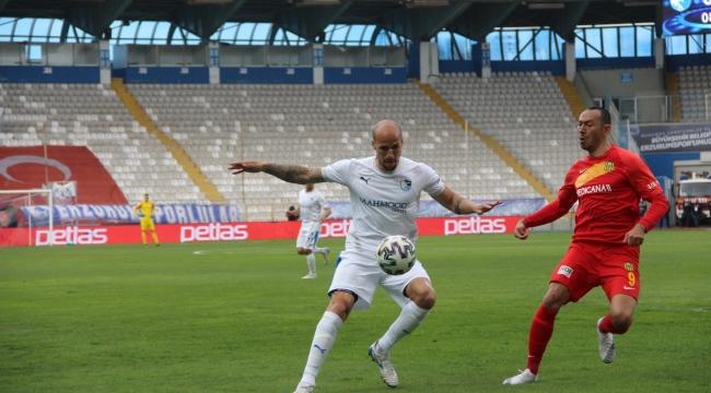 İFTARA KAYISI HOŞAFI; BB Erzurumspor: 1 - Yeni Malatyaspor: 0