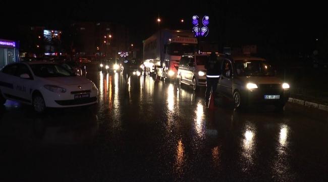 Erzurum'da tam kapanma sürecinde denetimler sıklaştı