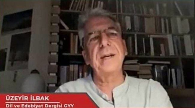 Üzeyir İlbak, gençlere yazarlık ve dergicilik tecrübelerini anlattı