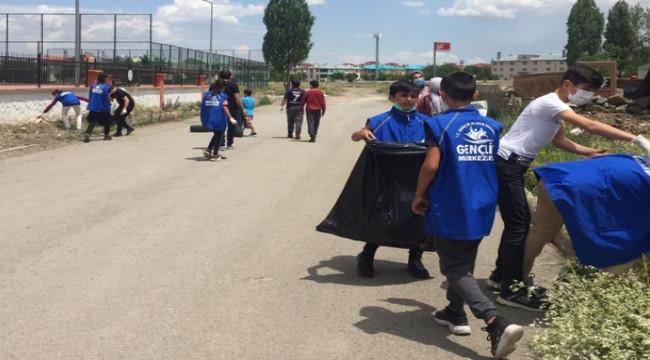 Gönüllü eğitim neferleri iş başında
