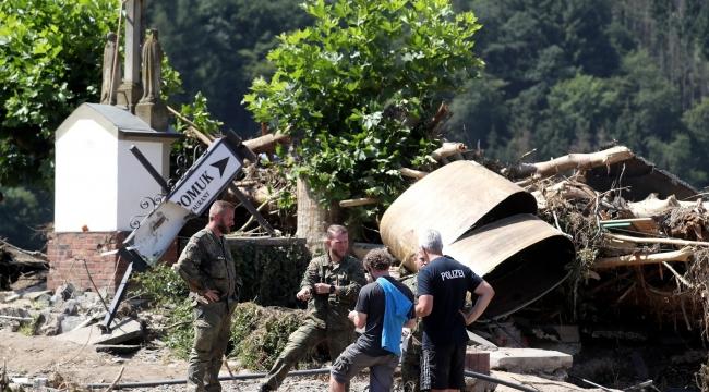 Almanya'daki sel felaketinde can kaybı 174'e yükseldi