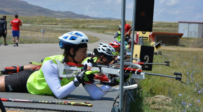 Kayaklı Koşu Biathlon milli takım seçmeleri yapıldı
