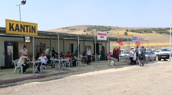 Türkiye'de ilk: Kurban kesim alanı çevrim içi olarak takip ediliyor