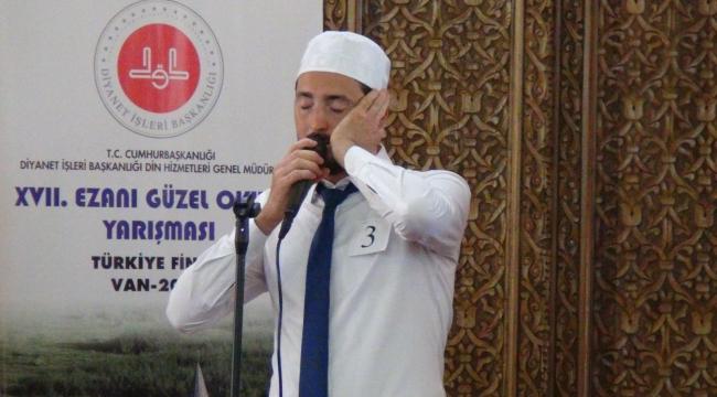 Ezanı güzel okuma yarışması Türkiye finali...