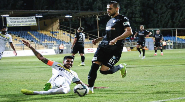 Menemenspor: 2 - BB Erzurumspor: 0