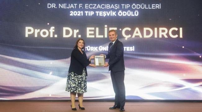 2021 Tıp Teşvik Ödülü Prof. Dr. Elif Çadırcı'nın - Alo 25