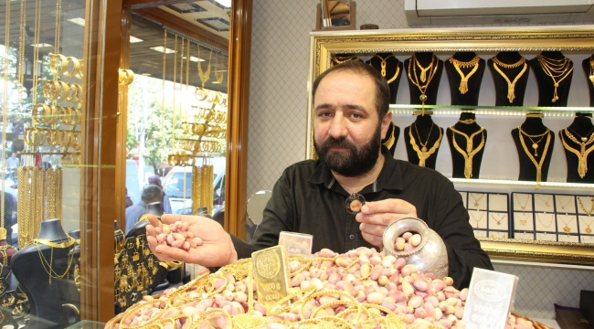 Fiyatı altınla yarışıyor: Siirt fıstığı iç piyasada 90, dış piyasada ise 120 liraya satılıyor