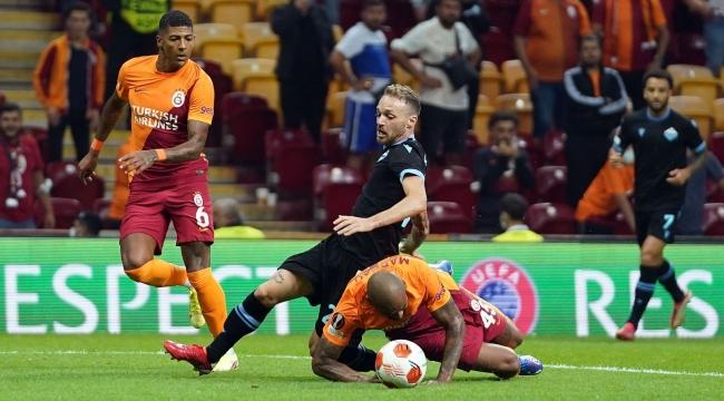 UEFA Avrupa Ligi: Galatasaray: 1 - Lazio: 0