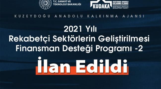 2021 yılı rekabetçi sektörlerin geliştirilmesi finansman desteği programı ilan edildi