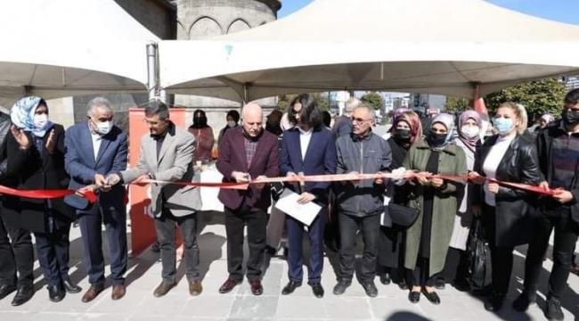 Erzurum'da ihtiyaç sahibi öğrenciler için hayır çarşısı düzenlendi