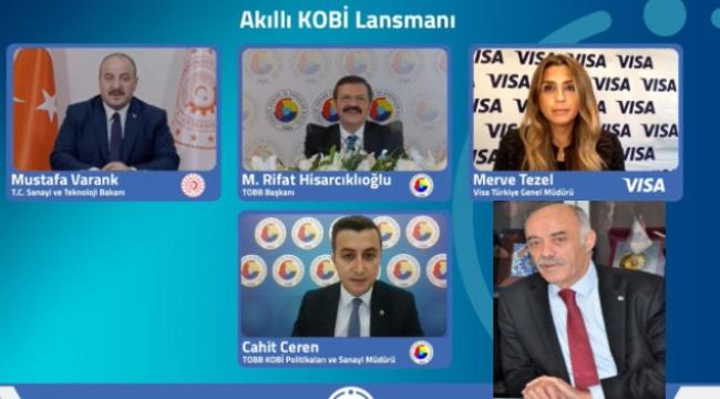 """ETSO Başkanı Yücelik; """"KOBİ'ler, dijitaleşmeyle sınırlarını aşar"""""""